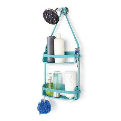 Flex Shower Caddy Surf Blue