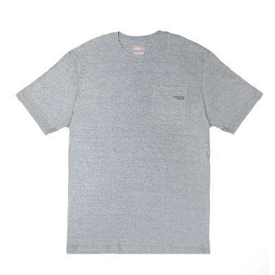 Men's Large/X-Large Gray Work Utility Short Sleeved T-Shirt