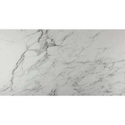 Carrara 12 in. x 24 in. Glazed Porcelain Floor and Wall Tile (16 sq. ft. / case)