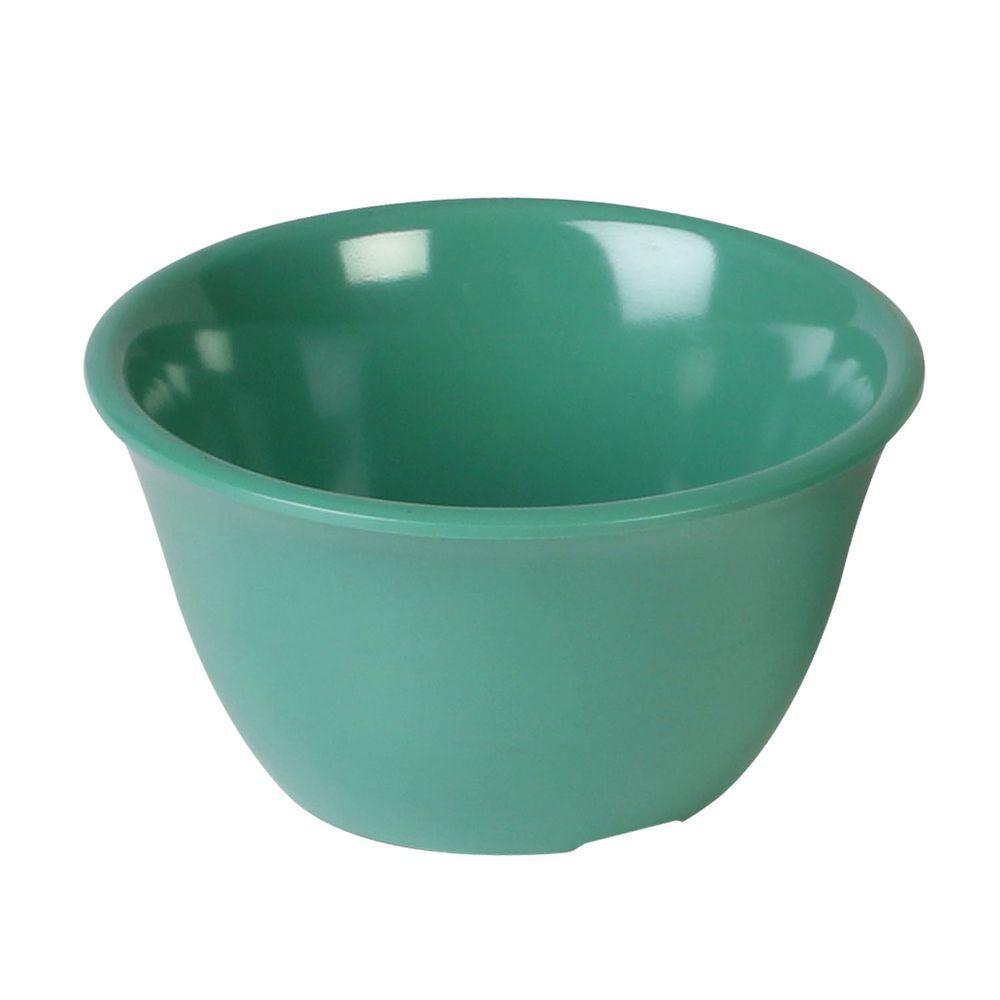 Coleur 7 oz., 4 in. Bouillon Cup in Green (12-Piece)