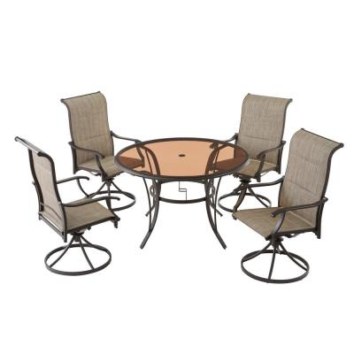 Round - Patio Dining Sets - Patio Dining Furniture - The Home Depot