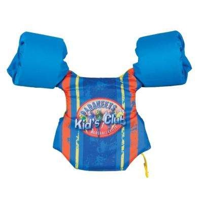 Kids Float Vest with Logo Swim Gear, Recommended 30 lbs. to 50 lbs.