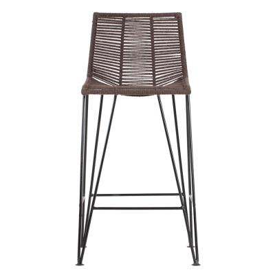 Odette 36 in. Brown Bar Stool