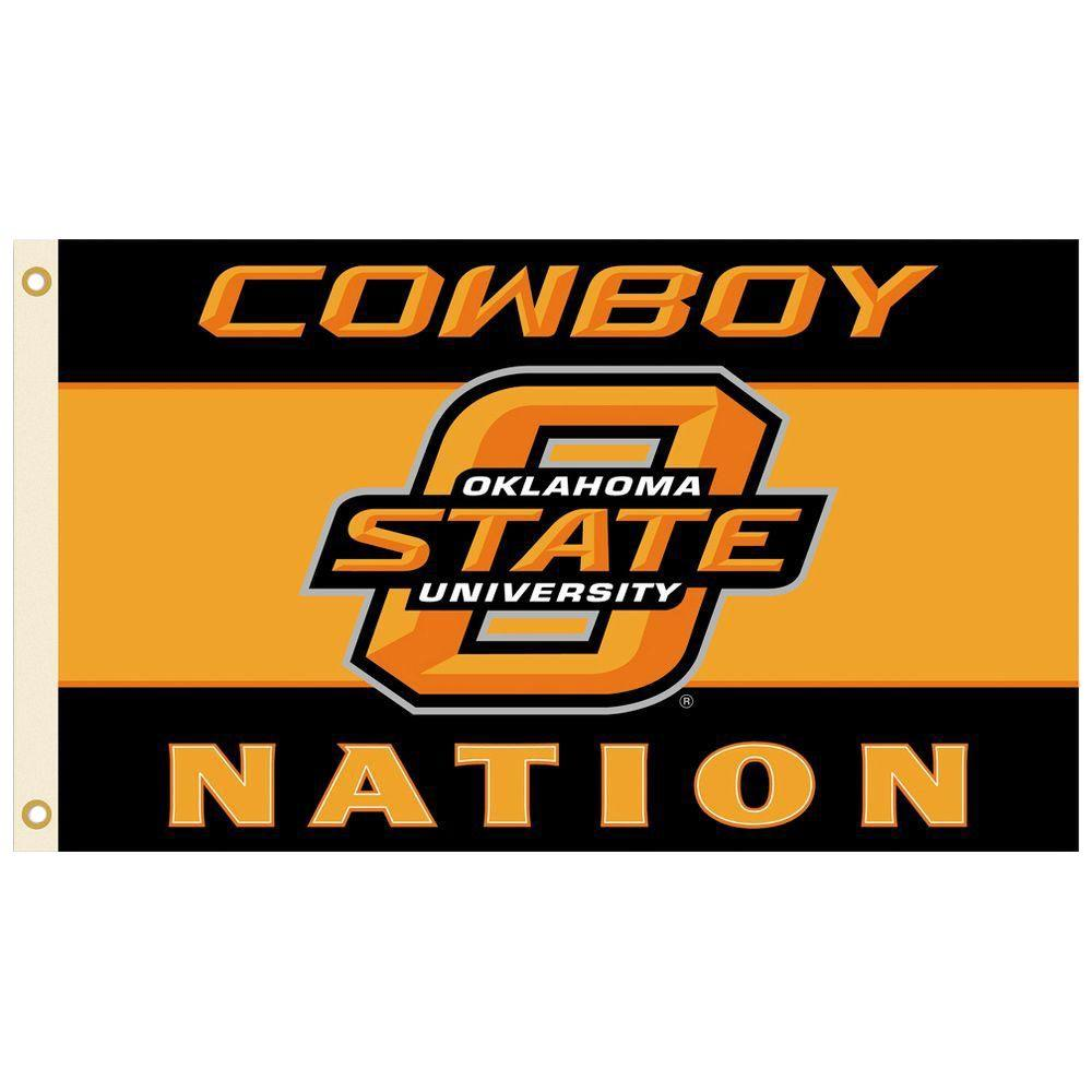 BSI Products NCAA 3 ft. x 5 ft. Oklahoma State Flag