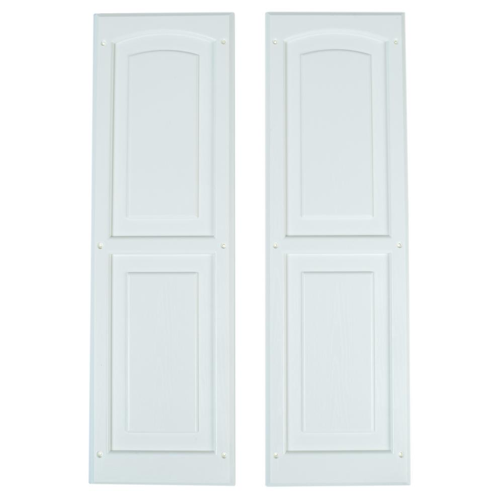 Handy Home Products Small Window Shutters (2-Pack)