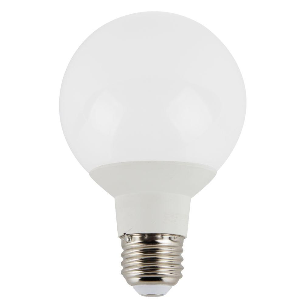 6W Equivalent 2,700K G25 Replacement Dimmable LED Light Bulb