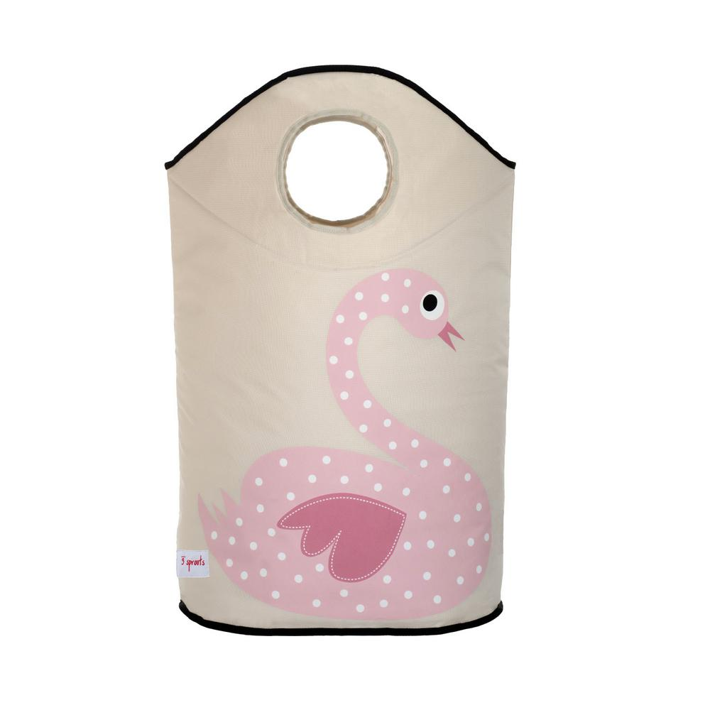 Laundry Hamper - Swan