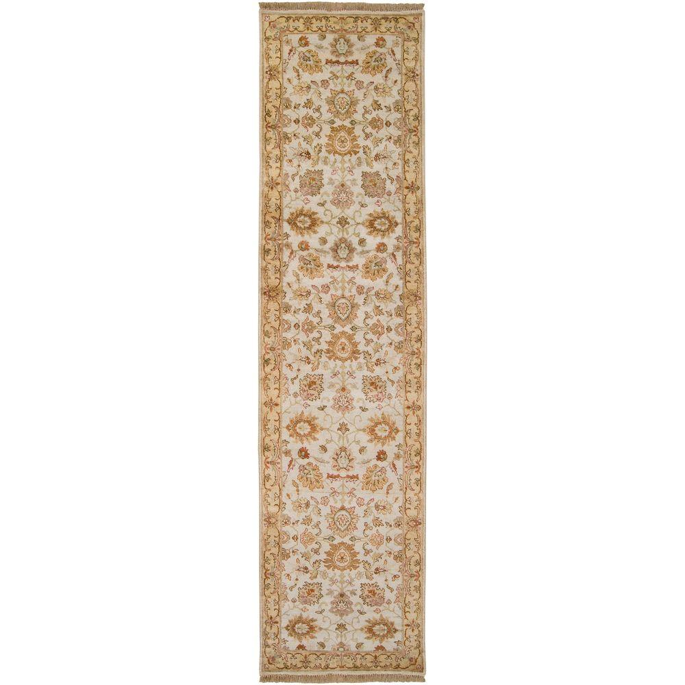 Artistic Weavers Achilleion Beige 2 ft. 6 in. x 10 ft. Runner
