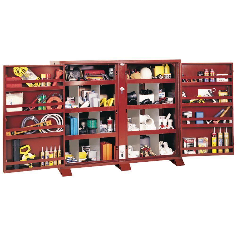 24 in. Extra-Heavy Duty Bin Cabinet