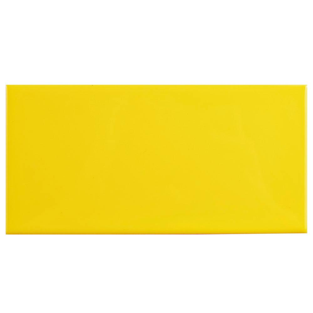 Merola tile park slope subway canary yellow 3 in x 6 in ceramic merola tile park slope subway canary yellow 3 in x 6 in ceramic wall dailygadgetfo Images