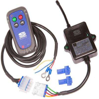 12-Volt DC Wireless Winching System for Terra ATV Winch with Weatherproof Floating Remote and 50 ft. Radius