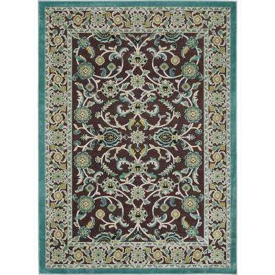 Nani Brown 5 ft. 2 in. x 7 ft. 3 in. Area Rug