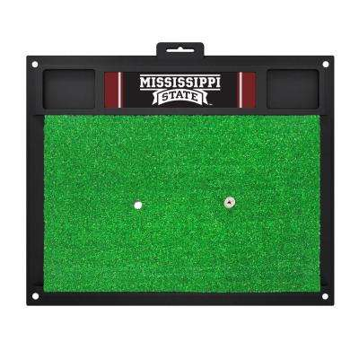 NCAA Mississippi State University 17 in. x 20 in. Golf Hitting Mat