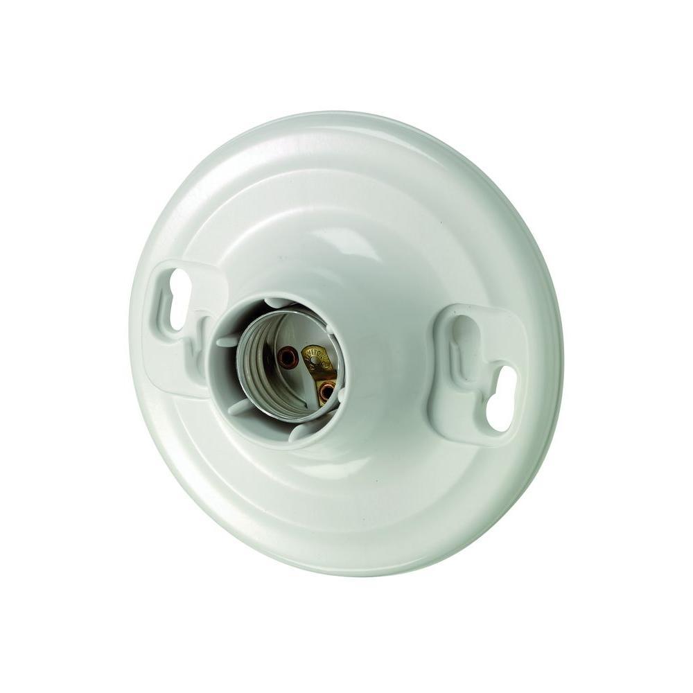 Leviton Plastic Keyless Lamp Holder by Leviton