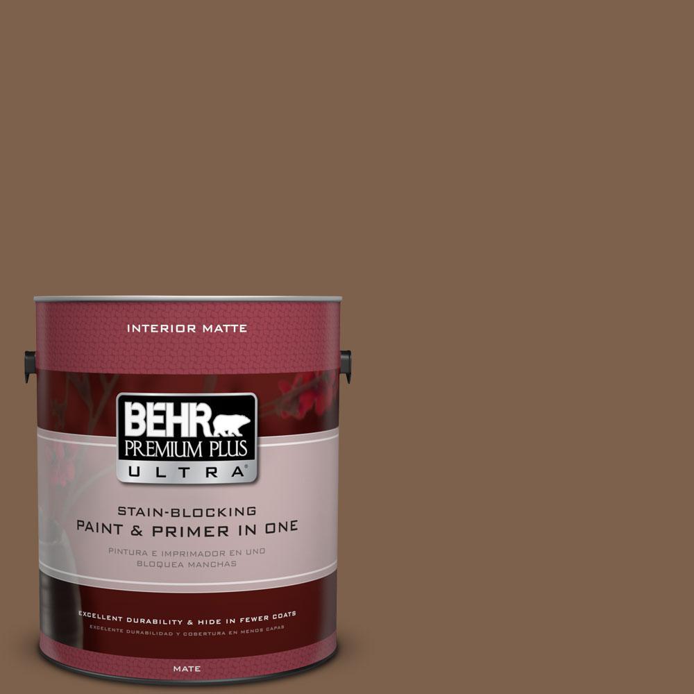 BEHR Premium Plus Ultra Home Decorators Collection 1 gal. #HDC-CL-13 Sassafras Tea Flat/Matte Interior Paint