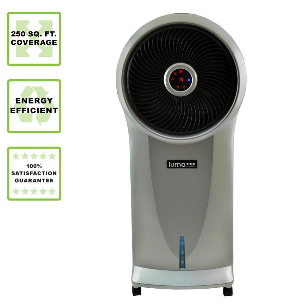 500 CFM 3-Speed Portable Evaporative Cooler for 250 sq. ft.