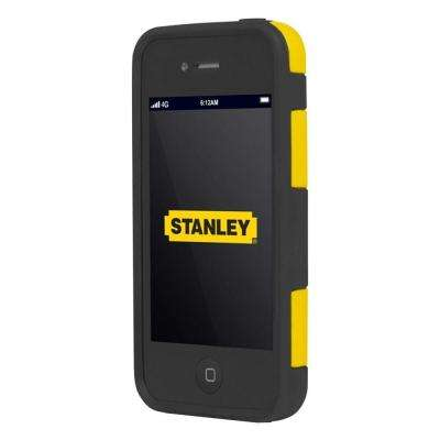Technician iPhone 4 and 4S Rugged 2-Piece Smart Phone Case - Black and Yellow