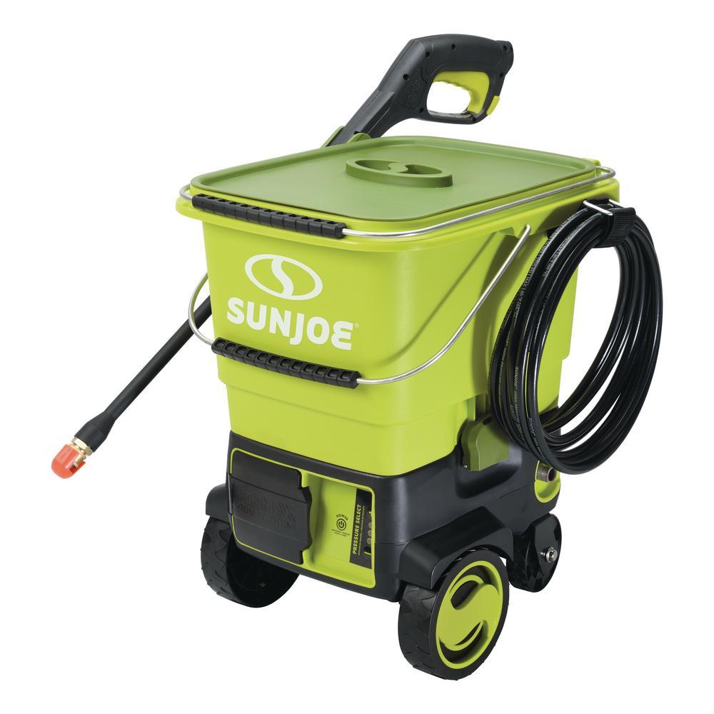 Sun Joe SPX6001C-XR Cordless Pressure Washer | 1160 PSI | iON 40V | 5.0 Ah