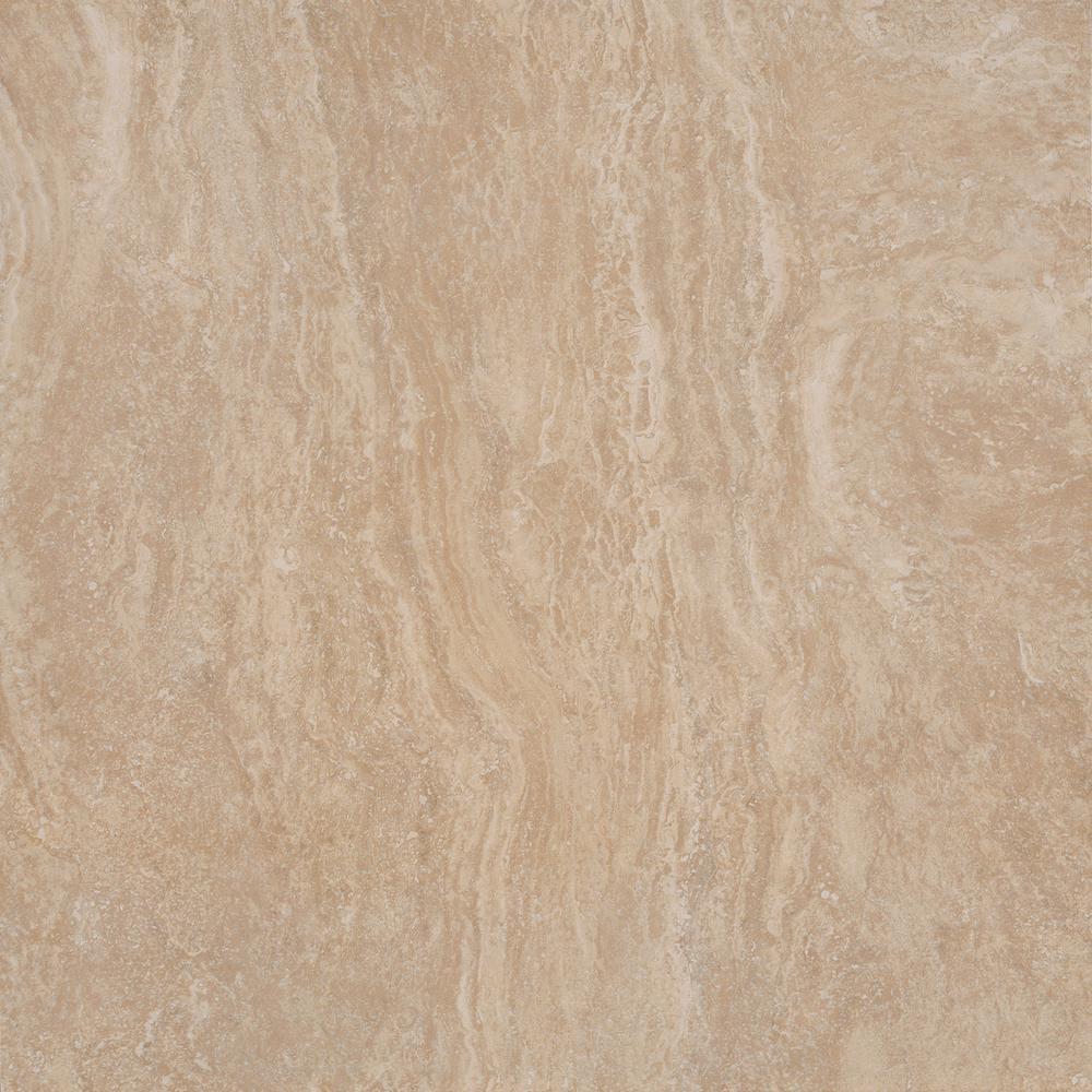Calypso Beige 20 in. x 20 in. Glazed Ceramic Floor and Wall Tile (19.46 sq. ft. / case)