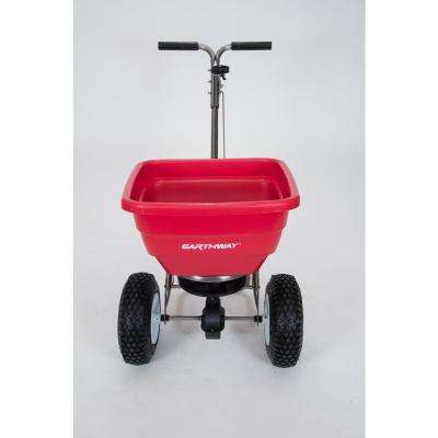 "Flex Select 80lb Stainless Steel High Output Spreader w/13"" Pneumatic Tires"
