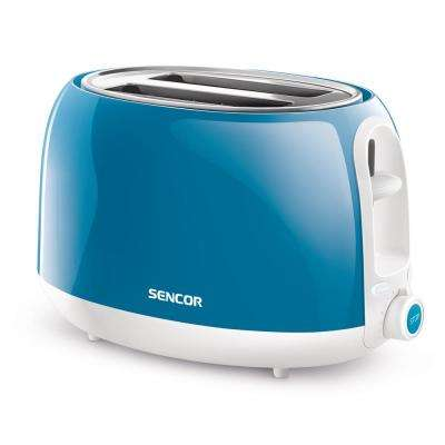2-Slice Solid Turquois Toaster