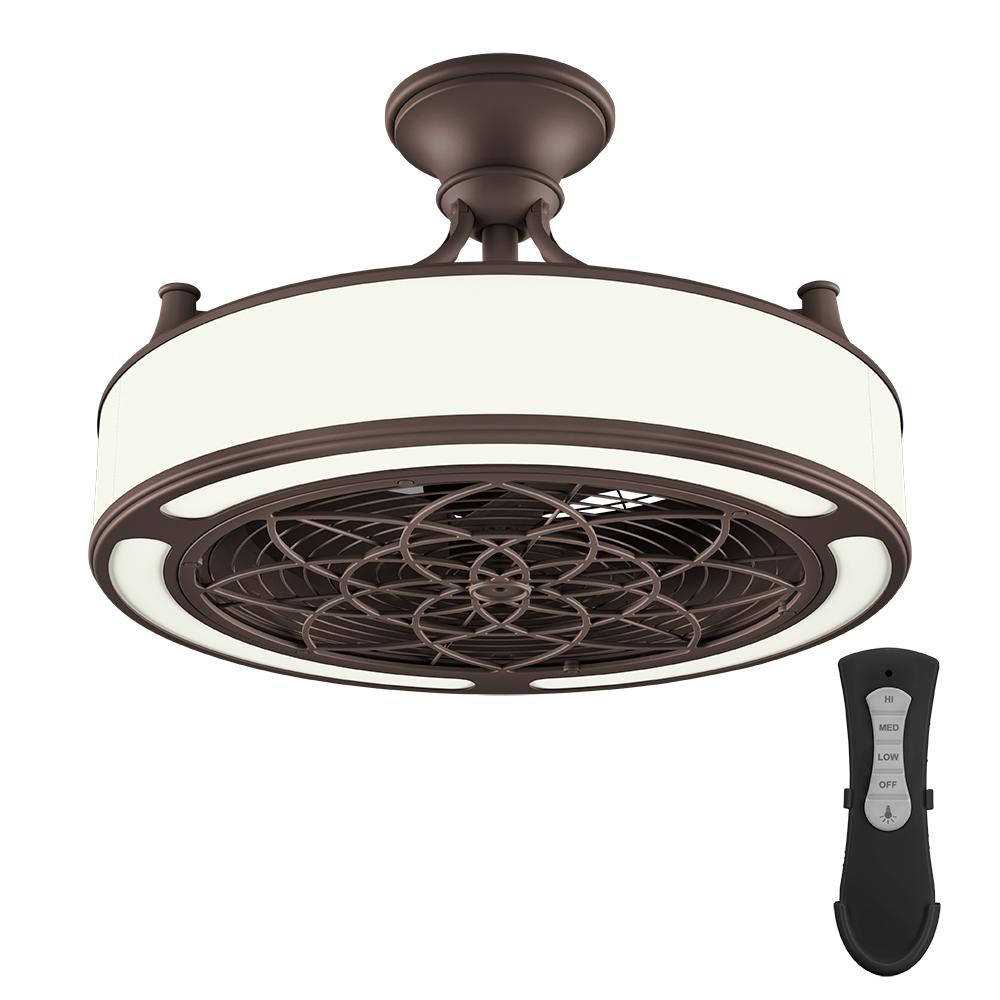 Ceiling Light Fan: Hunter Grand Cayman 54 In. Indoor/Outdoor Onyx Bengal