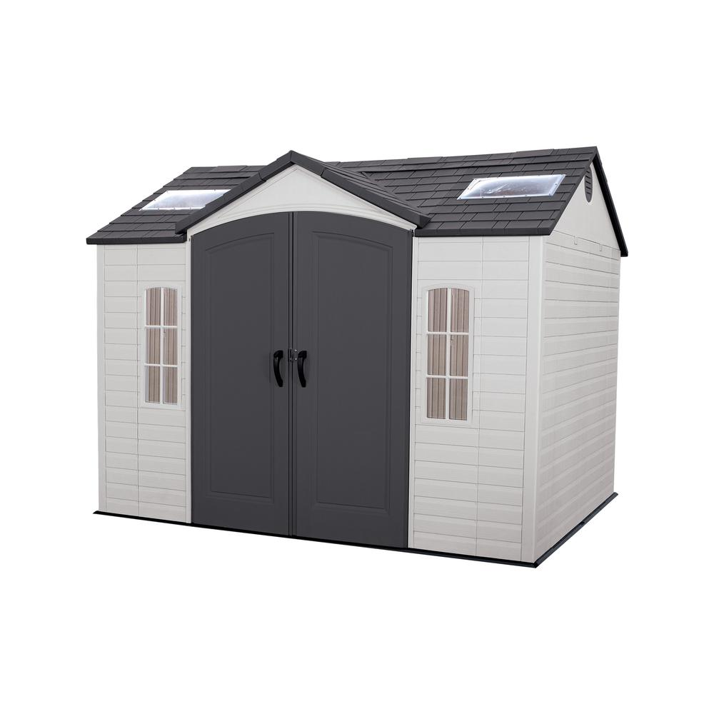 Lifetime 10 Ft X 8 Outdoor Garden Shed