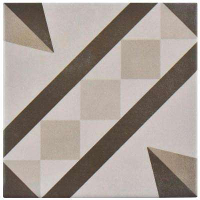 Atelier Gris Vendome 5-7/8 in. x 5-7/8 in. Ceramic Floor and Wall Tile (5.73 sq. ft. / case)
