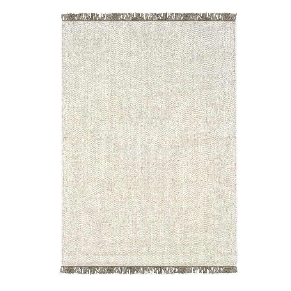 Linon Verginia Berber Natural/Ivory 5 ft. 3 in. x 7 ft. 6...