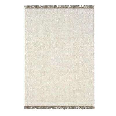 Verginia Berber Natural/Ivory 8 ft. x 10 ft. Indoor Area Rug