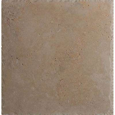 Tuscany Beige Pattern Honed-Unfilled-Chipped Travertine Floor and Wall Tile (5 Kits / 80 sq. ft. / pallet)