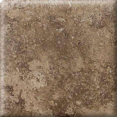 Santa Barbara Pacific Sand 2 in. x 2 in. Ceramic Bullnose Corner Wall Tile