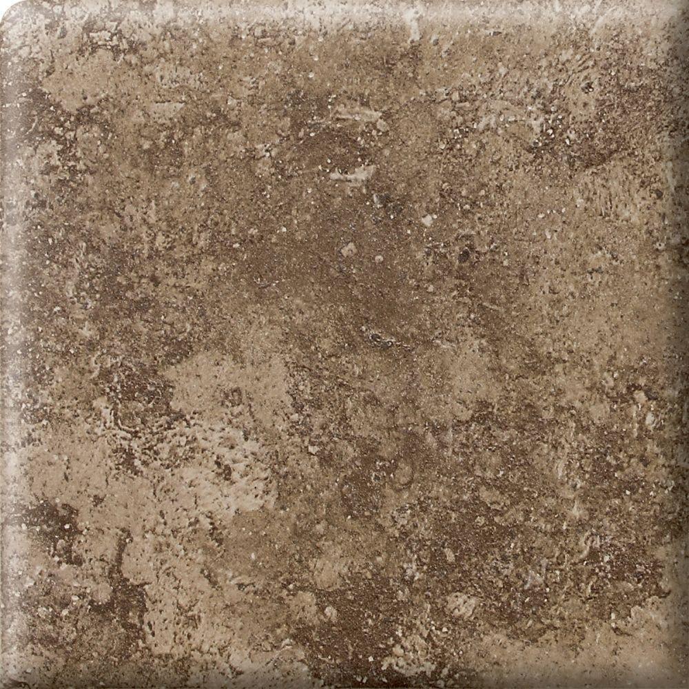 Santa Barbara Pacific Sand 2 in. x 2 in. Ceramic Bullnose Corner Wall Tile