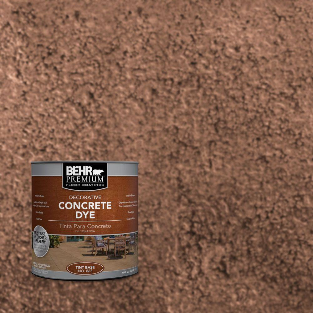 1 qt. #CD-811 Dried Cranberry Concrete Dye