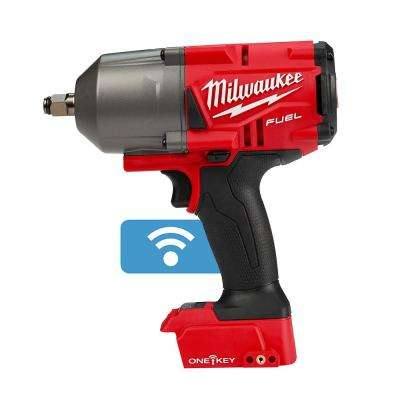 M18 FUEL w/ ONE-KEY 18-Volt Lithium-Ion Brushless Cordless 1/2 in. High Torque Impact Wrench w/Friction Ring (Tool-Only)
