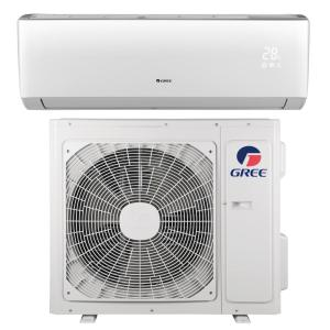 N LIVO 18,000 BTU 1.5 Ton Ductless Mini Split Air Conditioner with Inverter, Heat, Remote 208-230V/60Hz by N