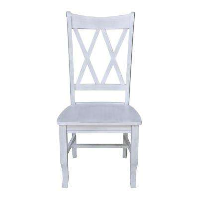 Double X Chalk Dining Chair (Set of 2)