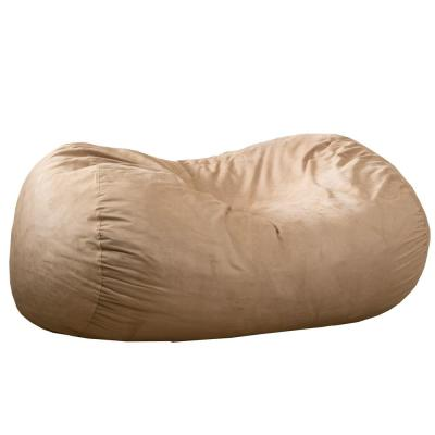 6.5 ft. Tuscany Suede Microfiber Double-Stitched Bean Bag