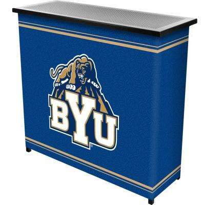 BYU 2-Shelf Black Bar with Case