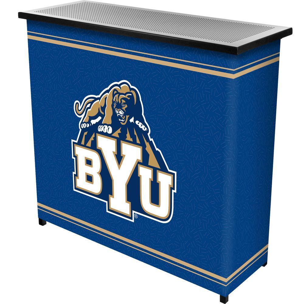 BYU 2-Shelf Black Bar with Case