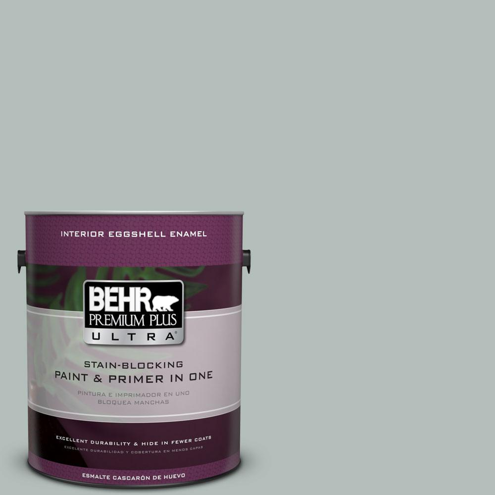 BEHR Premium Plus Ultra Home Decorators Collection 1-gal. #HDC-NT-25 Dew Eggshell Enamel Interior Paint