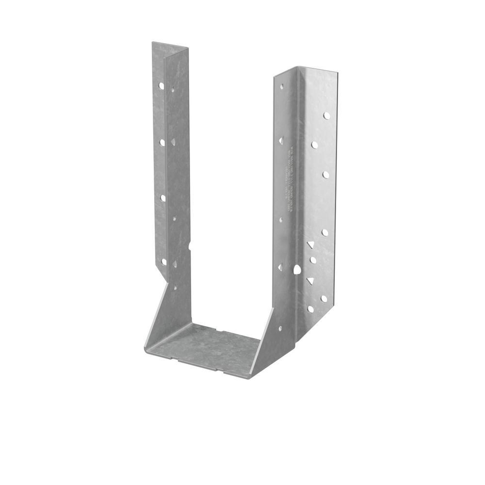 HU Galvanized Face-Mount Joist Hanger for 4x10 Nominal Lumber