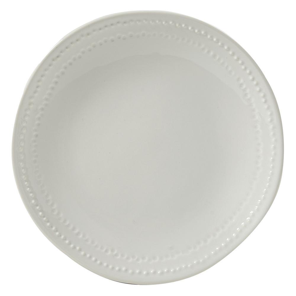 Peyton White Salad Plate (Set of 4)