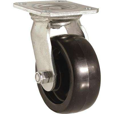 6 in. Poly Swivel Caster with 550 lb. Load Rating