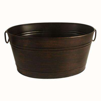 Oval Beverage Bin in Oil Rubbed Bronze