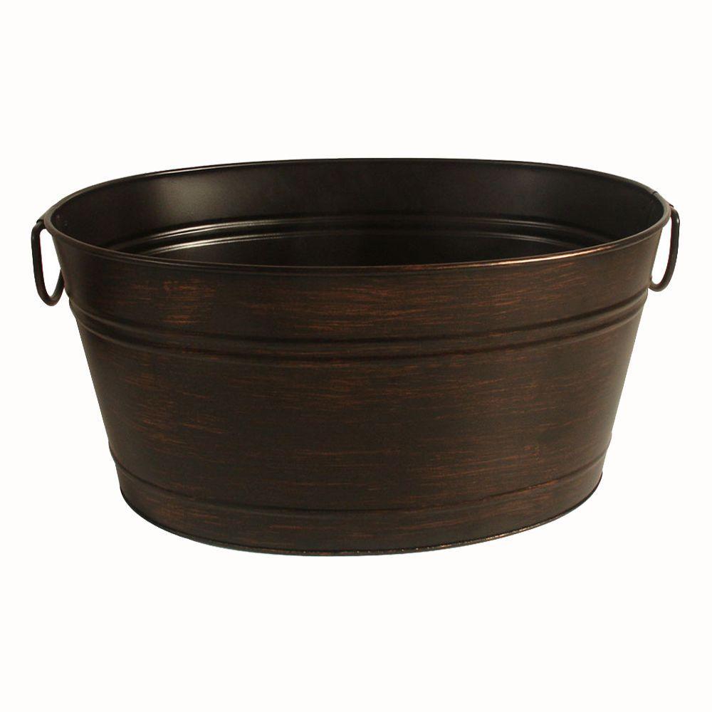 Oval Beverage Bin in Oil Rubbed Bronze