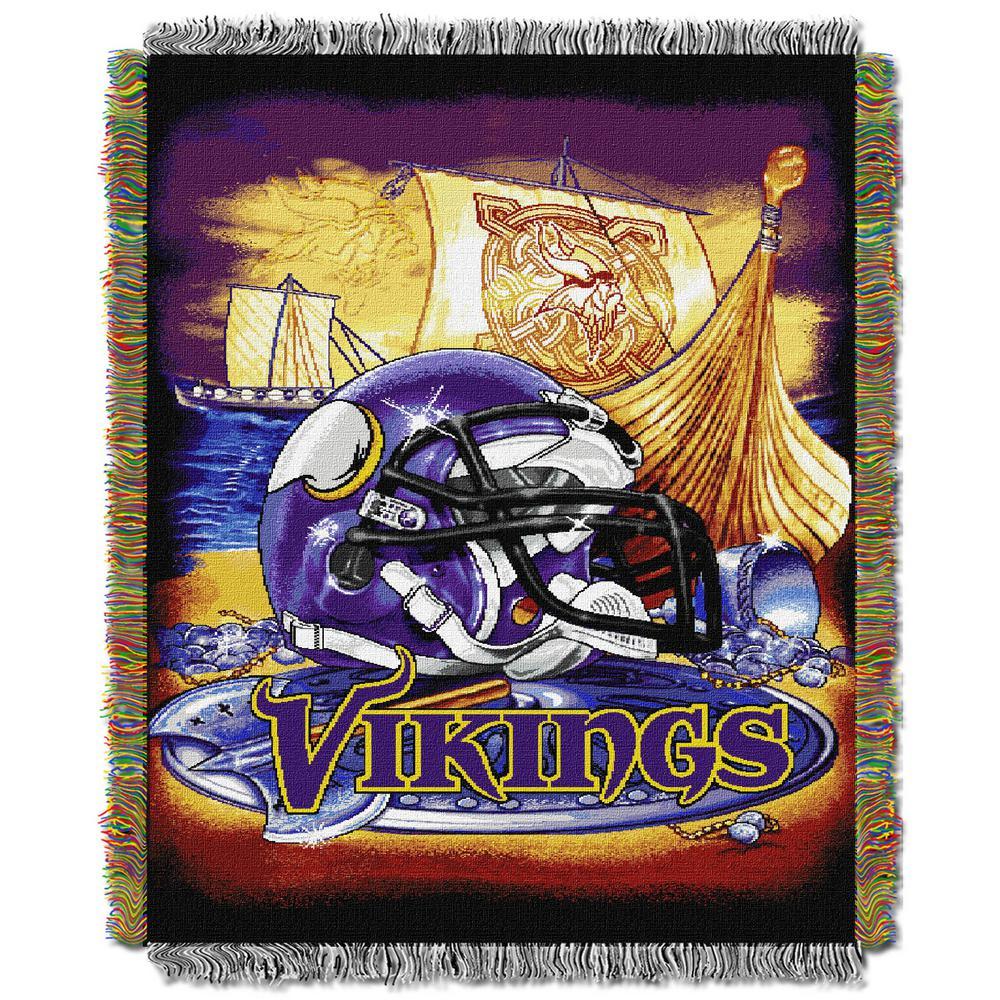 Vikings Multi-Color Tapestry Home Field Advantage