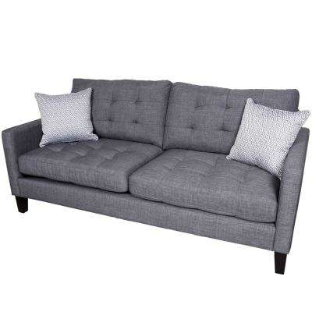 Draper Gray Contemporary Sofa