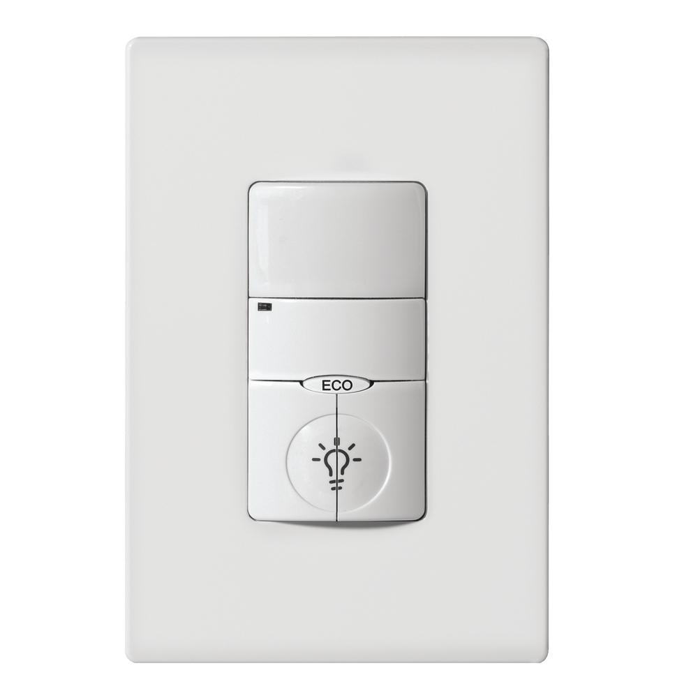 Leviton Decora 120 277 Volt Ac White Occupancy Pir Sensor