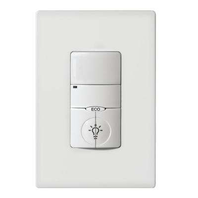 1000 sq. ft. 120/277-Volt AC Single-Pole NeoSwitch PIR Occupancy Sensor